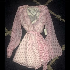 Lovers and Friends Polka Dot Dress
